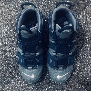 Nike Shoes - NEW Air More Uptempo GS 'Georgetown Hoyas'